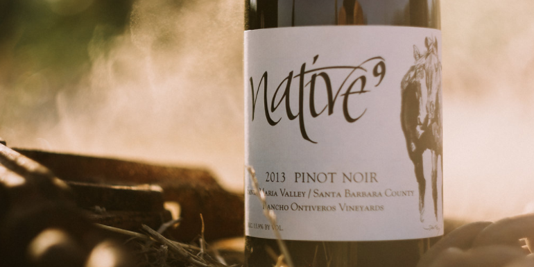 Ranchos de Ontiveros 2013 Native9 Pinot Noir